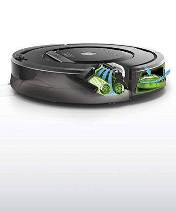 iRobot Roomba 871 Staubsaug-Roboter, mit Fernbedienung, grau - 8