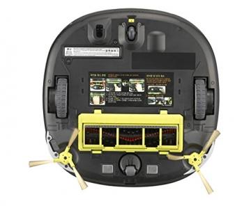 LG - CE VR 64701 LVMP Roboterstaubsauger (Dual Eye 2.0, Smart Turbo Modus) dunkel rot/schwarz - 7