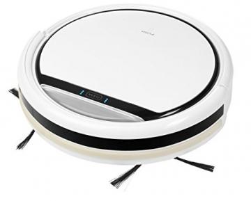 MEDION MD 16192 Saugroboter / 2200mAh / bis zu 80 Minuten, 0,3L Kapazität / Diverse Sensoren / weiß - 1